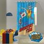 Adventure Time - Hora Da Aventura Cortina Infantil Brilha