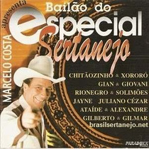Cd Marcelo Costa Bailao Do Especial Sertanejo