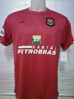 Camisa Flamengo Oficial Nike Escudo Remo 2007 2008 Nova Rara - R  78 ... e029d84ae0d83