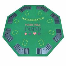 Mesa De Poker Table 8 Jugadores Portatil Baraja 2460