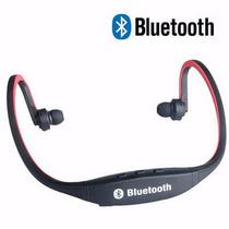 Audifonos Manos Libres Bluetooth Mp3 Llamadas Iphone Galaxy