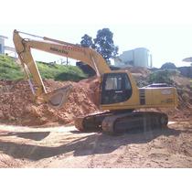 Escavadeira Pc 200 Komatsu Caterpillar Trator De Esteira