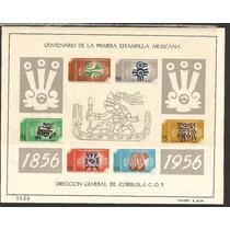 Hojita Centenario Primera Estampilla Mexicana 1956 Maa