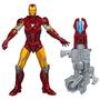 Juguete Figura De Accion Iron Man Avengers Rojo
