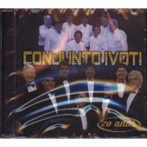 Cd Conjunto Ivoti 20 Años Nuevo