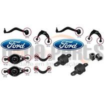 Kit 18 Buchas Suspensão Ford Fusion 2007 Até 2012 - 1ª Linha