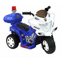Carrito Electrico Tipo Moto Policia
