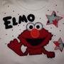 Camisetas Decoradas Damas Niñas Niños Elmo Snoopy