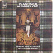 Johnny Mathis Compacto Vinil Me And Mrs. Jones 1973 Mono