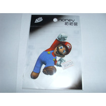 Super Mario Decalk Contact Tranfer Para Camisas Bones Calça