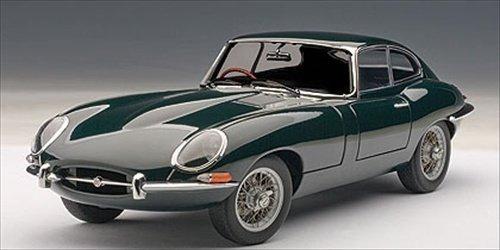 Miniatura Jaguar E Type Coupe Diecast Autoart 1/18