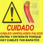 Cable Unipolar 10mm Marca Argenplas 100% Cobre + Medidas