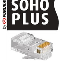 Conector Plug Macho Rj45 Cat 5e 8 Vias Furukawa 50 Pçs