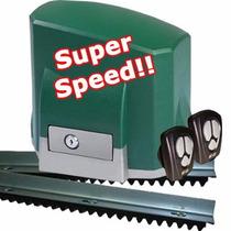 Kit Motor Porton Corredizo Rapido Seg 500kg Superspeed 7 Seg