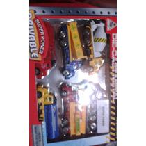 Carritos Set X 6 Camion Gandola