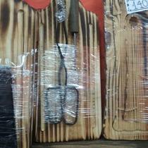 Set De Tabla + Pinza + Tenedor
