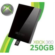Hd 250gb Para Xbox 360 Slim Original Microsoft Pronta Entreg