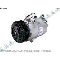 Compressor Ar Condicionado Astra 1.8 8v 02/05 2.0 8v Flex 07