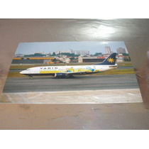 ( L - 380 ) F-22 Fotografia Do Avião 737-300 Varig - Copa