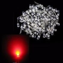Kit 1.000 Leds Alto Brilho 5mm - Vermelho (1.000 Unidades)
