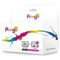 Kit De Papel Y Tinta Para Impresora Pringo Hiti 30 Hojas
