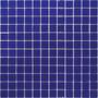 Pastilha Azul De Vidro Cristal De Alto Brilho
