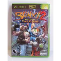 Blinx 2 Masters Of Time & Space - Game Xbox Original Lacrado