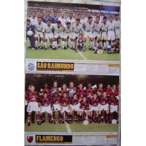 Poster Placar São Raimundo Tricampeão Da Copa Norte.