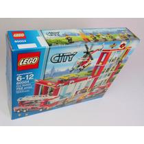 Lego 60004 Fire Station / Estación De Bomberos - Caja Nueva!