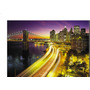 Mural Vinilo Decorativo New York Night, Marca Komar