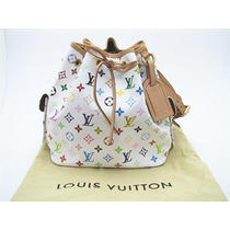 Louis Vuitton Petit Noe Multicolor Monogram 100% Original