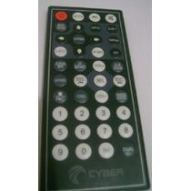 Controle Remoto Dvd Cyber 7 Cybd-510 - Original