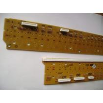 Kit 2 Réguas/peças Teclado Yamaha Psr S550/s500/e403