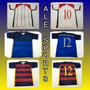 Jogo Camisas Futebol Para Times De Várzea Numeradas.