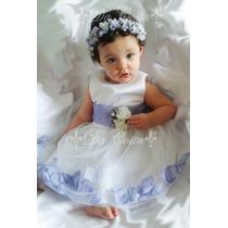 Vestidos,bebe Niñas-bautizo,cortejo,pajecitas, Talla 3-4