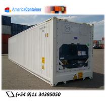 Reefers/contenedores Marítimos Refrigerados 40 ´usados Am01