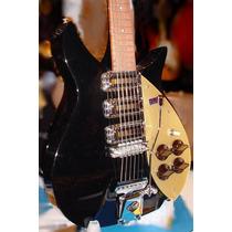 Raríssima Rickenbacker 325c58 John Lennon Tags + Case