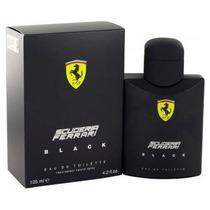 Perfume Ferrari Black 125ml 100% Original Lacrado