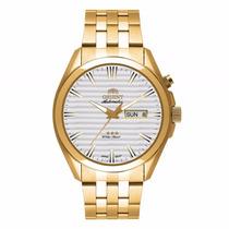 Relógio Orient Automático Dourado 469gp041 Linha 3 Estrelas