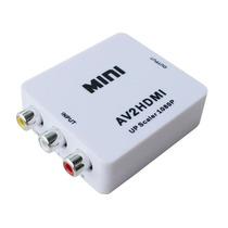 Convertidor Rca A Hdmi Full Hp 1080p Av2hdmi Tienda Física