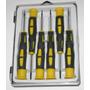 Kit Chaves Torx / Estrela - 6 Peças - T5 A T10 - Com Imã