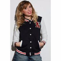 Jaqueta Varsity Baseball Feminina A