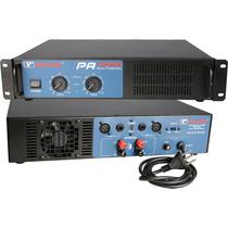 Amplificador De Potência New Vox Pa-4000 - 2000w Rms