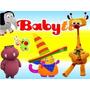 Kit Imprimible Baby Tv Diseña Tarjetas Cumples Y Mas 2x1