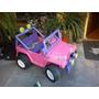Carro Electrico Barbie