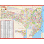 Mapa Geo Político Rodov. Gigante Do Estado De Santa Catarina