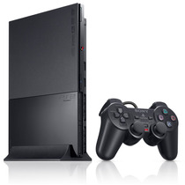 Playstation 2 Slim Usado. Imagem Meramente Ilustrativa!!!