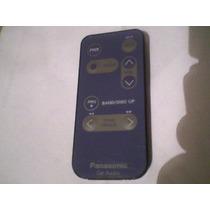 Controle Para Som Automotivo Panasonic Antigo