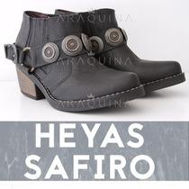 Botas Heyas Safiro Cuero Mujer | Zapatos Dama | Araquina