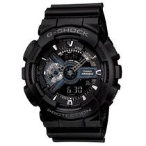 Relógio Casio G-shock Ga-110-1b Wr200 H.mundial 5 Alarmes Pp